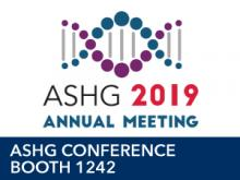 ASHG 2019 Conference Logo Booth 1242