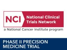 NCI Clinical Trial Logo Phase II Precision Medicine Trial