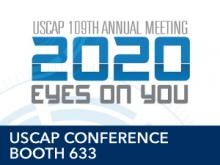 USCAP Conference 2020 logo Booth 633